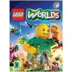 بازی گردو Lego worlds مخصوص PC