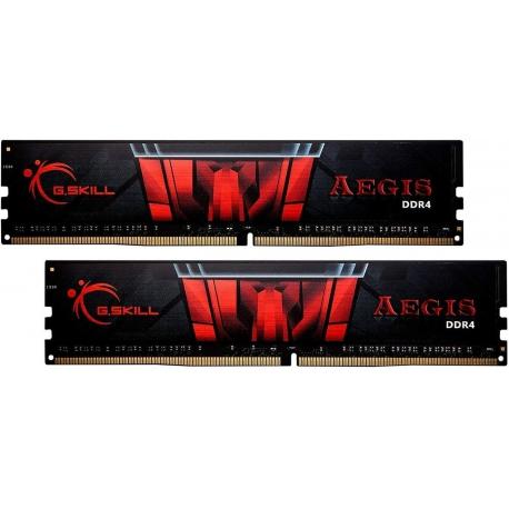 رم دسکتاپ DDR4 جی اسکیل دو کاناله 3200 مگاهرتز مدل Aegis ظرفیت 16 گیگابایت CL16