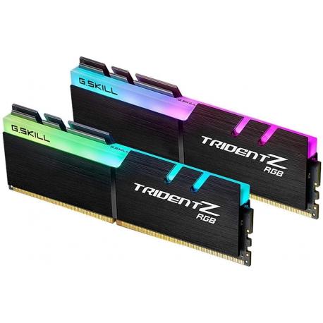 رم دسکتاپ DDR4 جی اسکیل دو کاناله 3600 مگاهرتز مدل Trident Z RGB ظرفیت 16 گیگابایت CL18