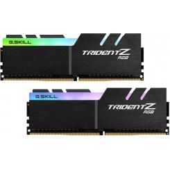 رم دسکتاپ DDR4 جی اسکیل دو کاناله 4000 مگاهرتز مدل Trident Z RGB ظرفیت 16 گیگابایت CL17