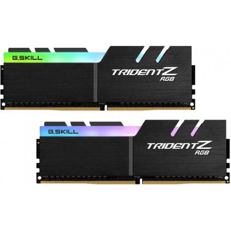 رم دسکتاپ DDR4 جی اسکیل دو کاناله 4000 مگاهرتز مدل Trident Z RGB ظرفیت 16 گیگابایت CL18