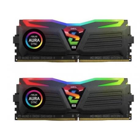 رم دسکتاپ DDR4 ژل دو کاناله 3200 مگاهرتز مدل Super Luce RGB SYNC ظرفیت 16 گیگابایت CL16