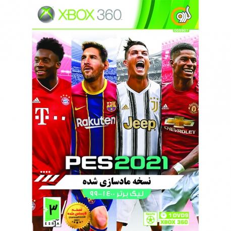 بازی PES 2021 به همراه لیک برتر 99-1400 مخصوص XBOX
