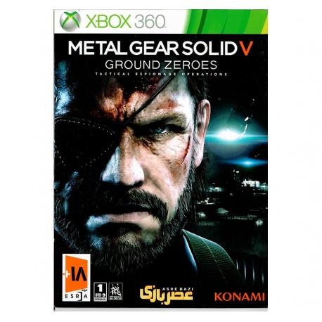 بازی Metal gearsolid xbox360