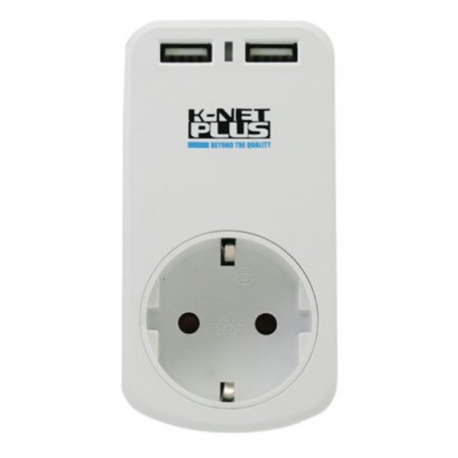 محافظ برق تک پورت کی نت پلاس K-Net Plus KP-PS03 به همراه پورت USB