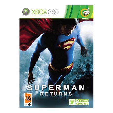 بازی SUPERMAN RETURNS مخصوص XBOX
