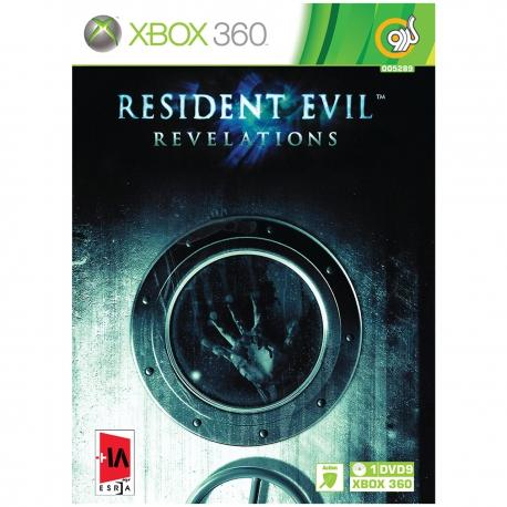 بازی گردو Resident Evil revelations مخصوص XBOX 360