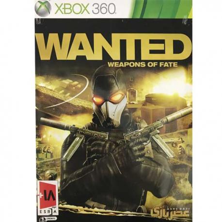 بازی Wanted Weapons of Fate مخصوص xbox360