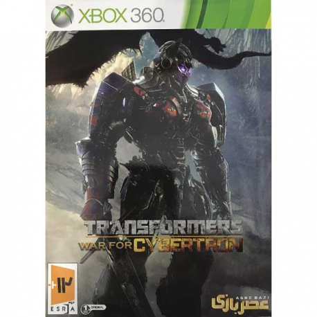 بازی transformers war of cybertron مخصوص xbox 360