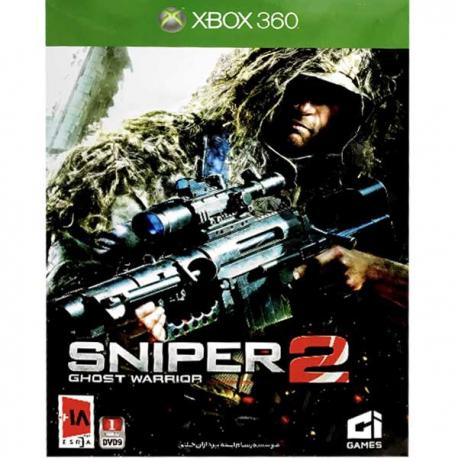 بازی sniper 2 ghost wrrior نیوتک مخصوص xbox360