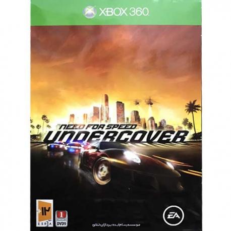 بازی need for speed undercover نیوتک مخصوص xbox360