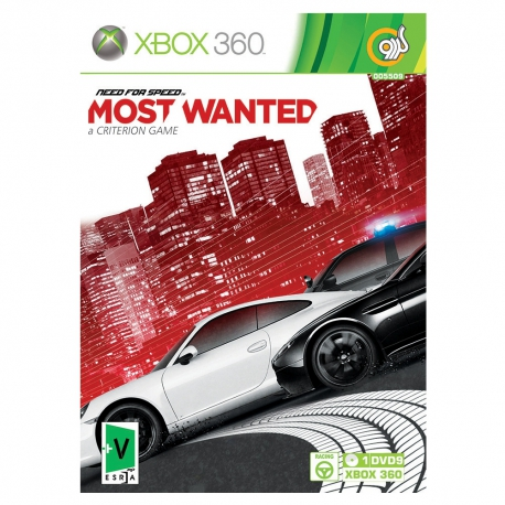 بازی Need For Speed Most Wanted مخصوص Xbox360