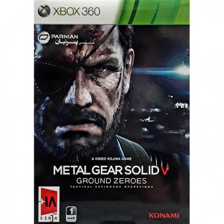 بازی metal gear solid پرنیان مخصوص xbox36
