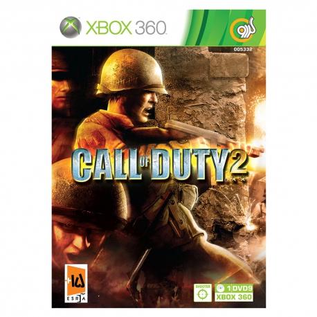 بازی Call of Duty 2 مخصوص Xbox 360