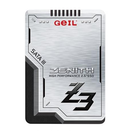 اس اس دی اینترنال ژل GEIL Zenith Z3 ظرفیت 256 گیگابایت