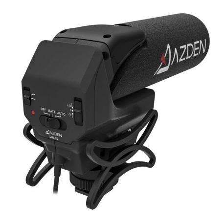 میکروفن شاتگان روی دوربینی AZDEN مدل SMX-15