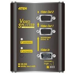 اسپلیتر 2 پورت vga دیواری آتن مدل ATEN VS102