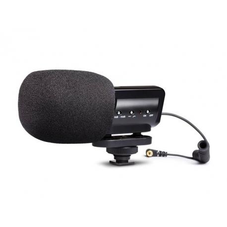 میکروفن شاتگان روی دوربینی استریو MARANTZ مدل Audio Scope SB-C2