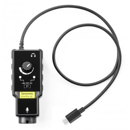 رابط صوتی سارامونیک مدل SmartRig UC برای دستگاه های USB-C