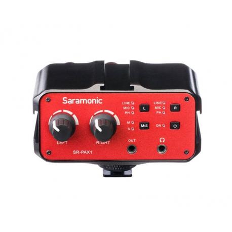 میکسر صدا دوربین سارامونیک مدل SR-PAX1