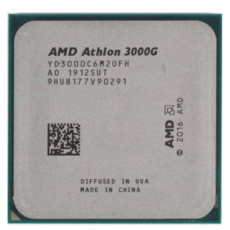 پردازنده بدون باکس ای ام دی AMD Athlon 3000G