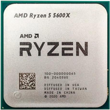 پردازنده بدون باکس ای ام دی AMD Rayzen 5 5600X