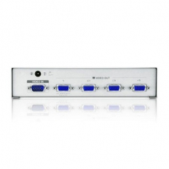 اسپلیتر 4 پورت VGA همراه آداپتور - 150 مگاهرتز