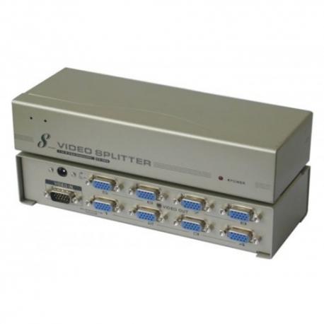 اسپلیتر 8 پورت VGA همراه آداپتور - 150 مگاهرتز