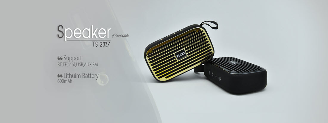 اسپیکر بلوتوثی قابل حمل تسکو TSCO TS 2337