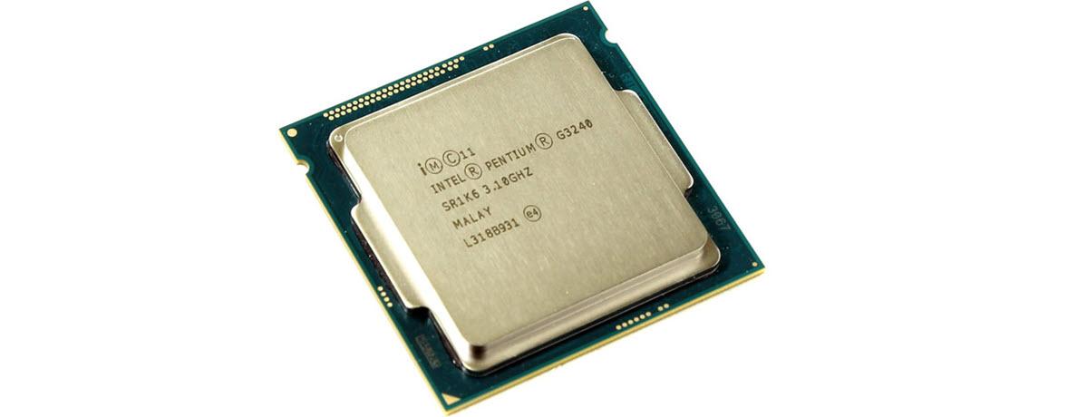 سی پی یو بدون باکس اینتل Intel Pentium G3240